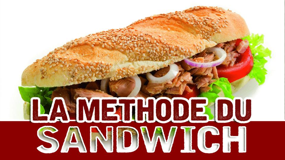Utilisez un Sandwich pour faire passer la Pillule