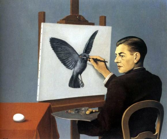 Clairvoyance de Magritte
