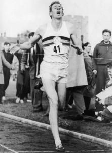 Roger Bannister mile 4min
