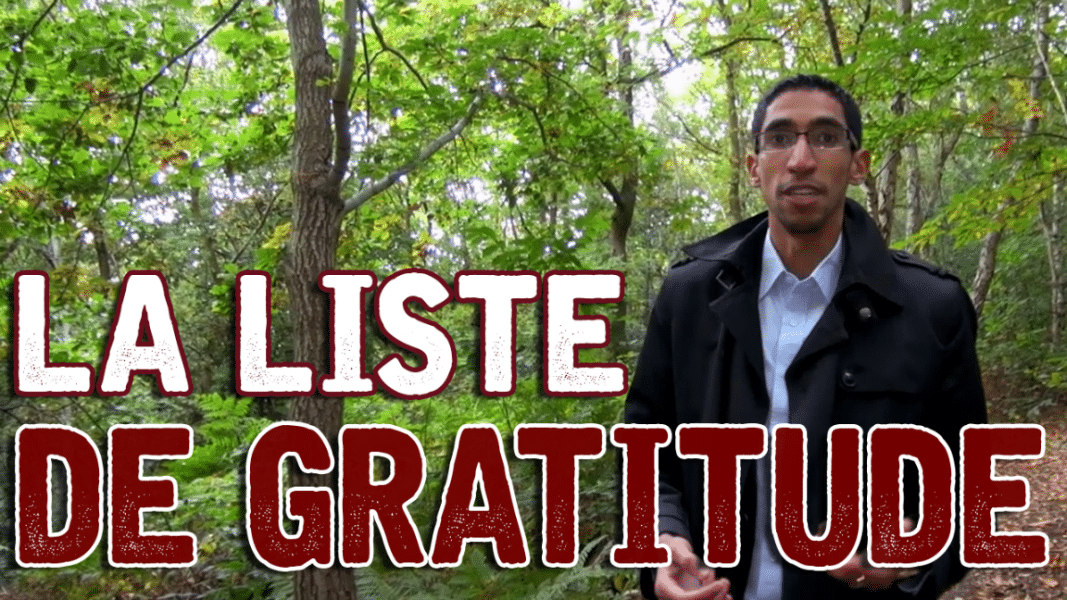 Utilisez un carnet de gratitude !