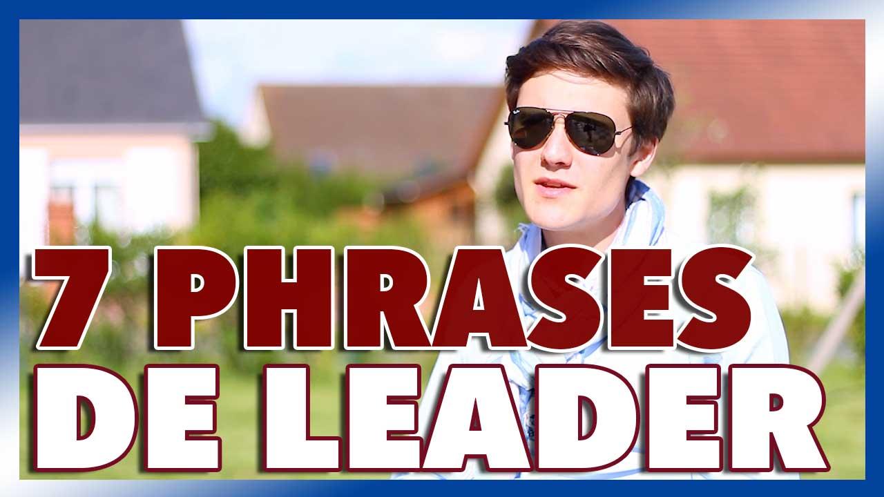 Management et Leadership : 7 phrases à utiliser