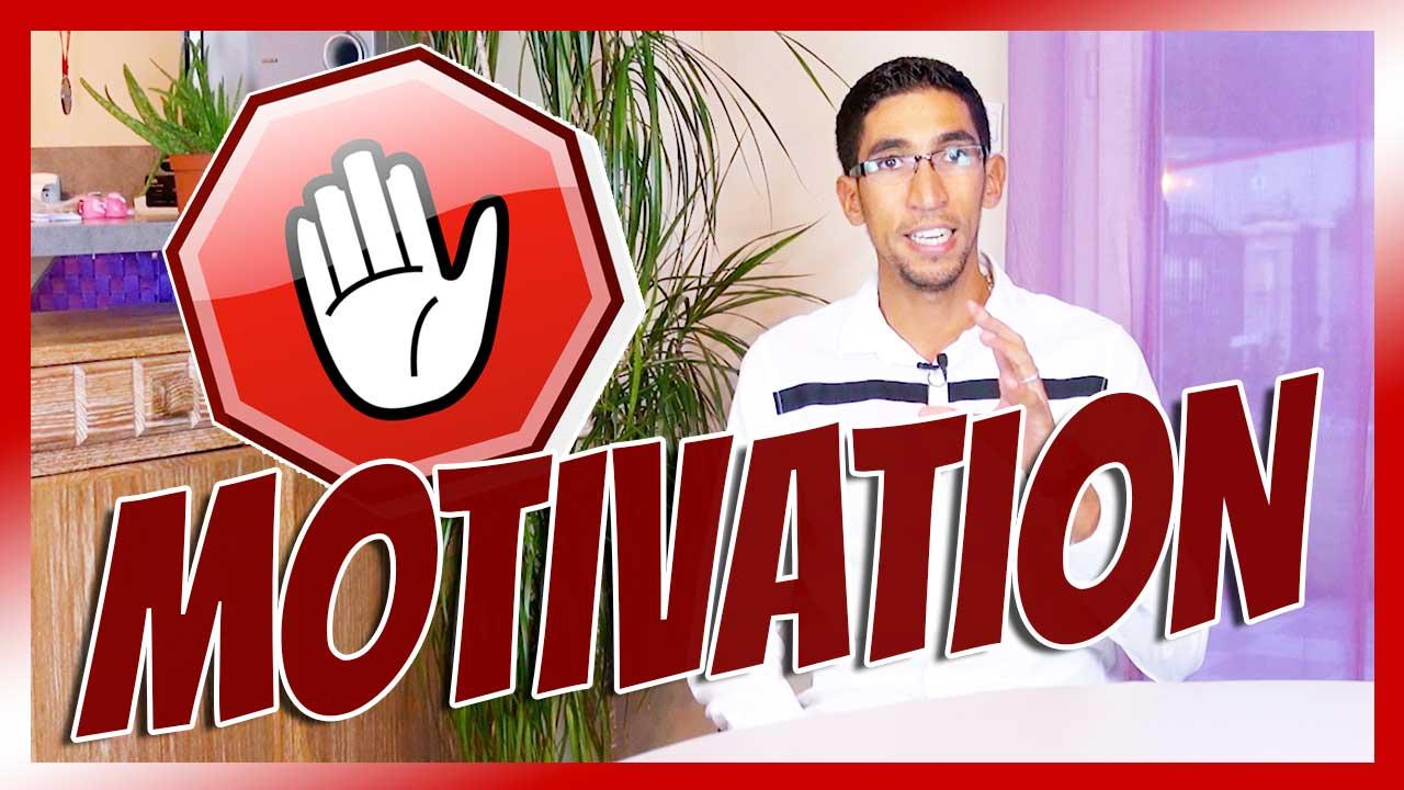 La motivation ne suffit pas : démonstration.