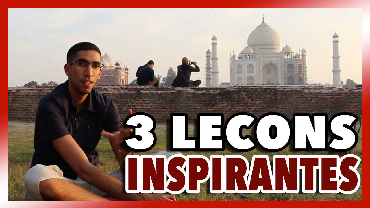 3 leçons inspirantes tirées de l'histoire du TAJ MAHAL #VlogInde