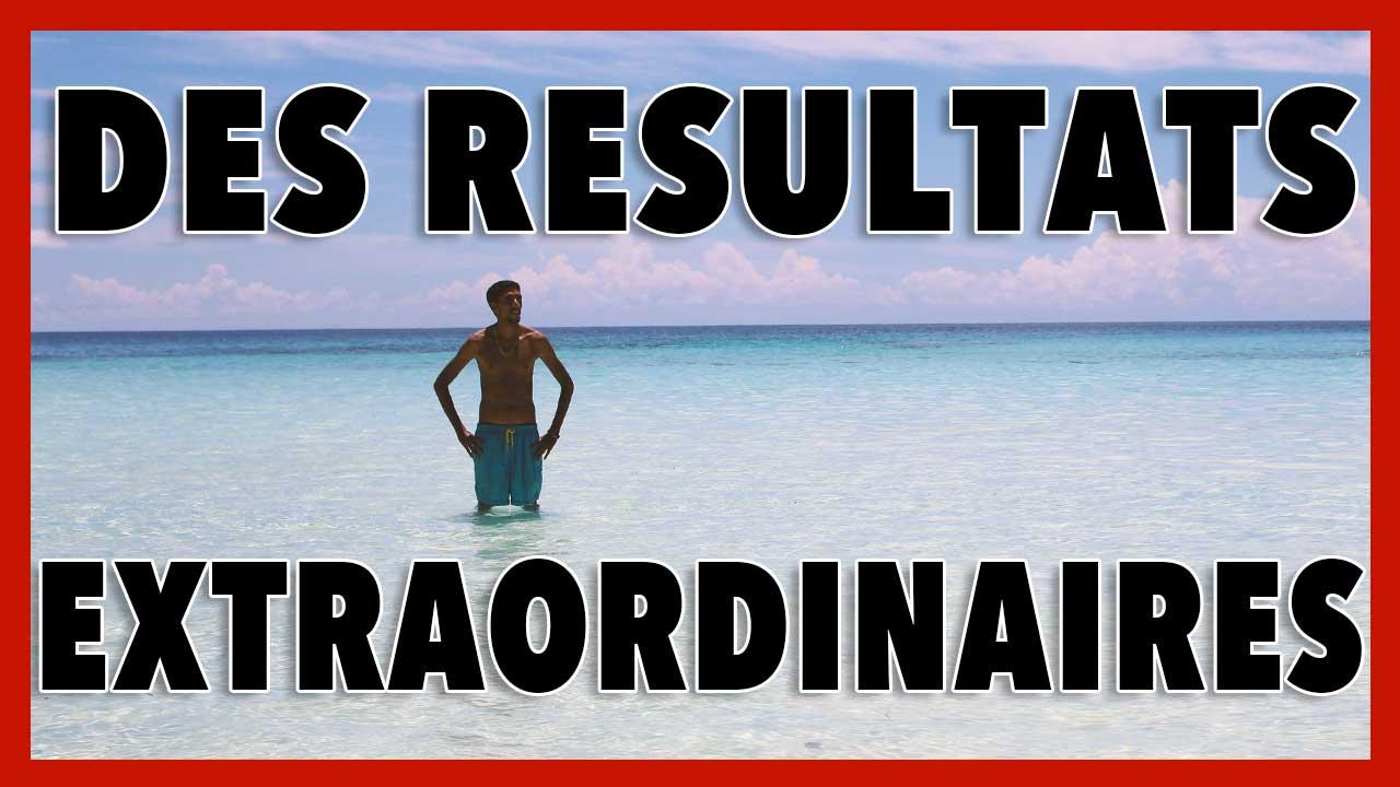 Comment avoir des résultats extraordinaires ? (depuis une plage paradisiaque)