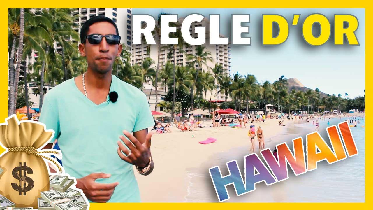 Gagner de l'argent sur internet : une règle d'or  ( #Vlog Hawaii )