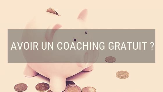 Tu veux un coaching gratuit ?