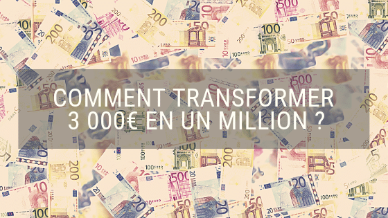 Comment transformer 3000€ en un million ? Démonstration