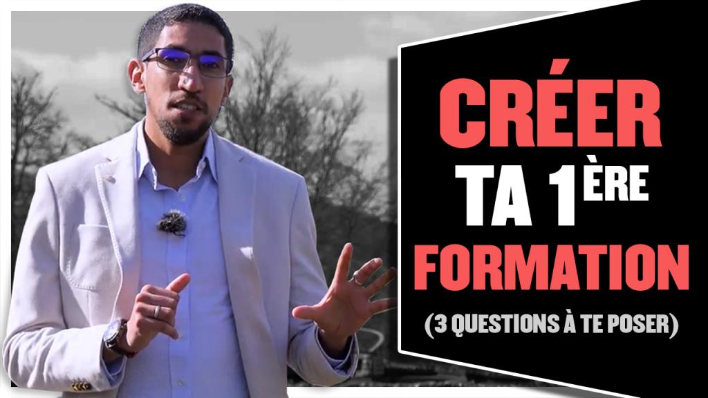 Créer ta première formation en ligne