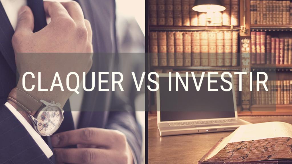 Entrepreneur : claquer vs investir