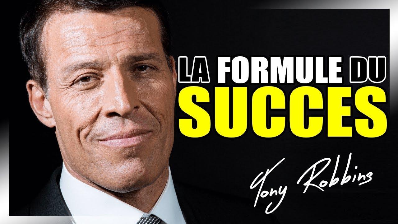 La formule du succès en 4 étapes par Tony Robbins