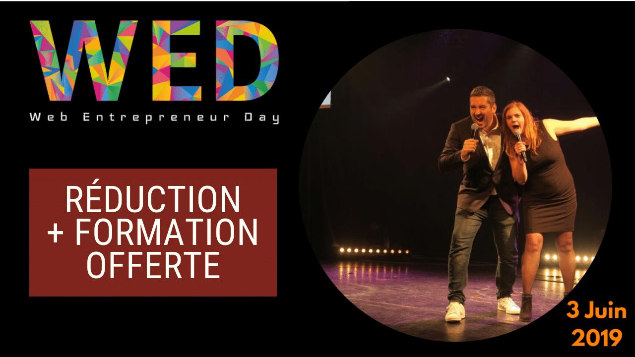 Web Entrepreneur Day 2019 : coupon réduction