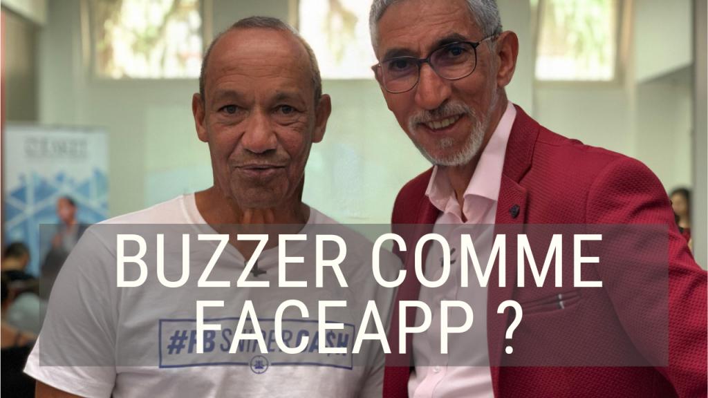 Comment buzzer comme faceapp ?