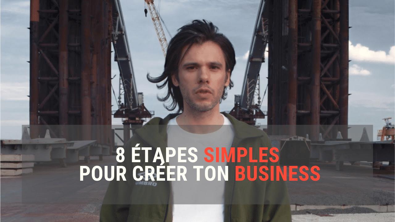 Un plan d'action SIMPLE pour lancer son business en ligne