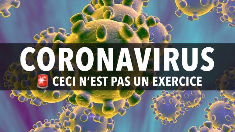 CORONAVIRUS : Avertissement et Précautions à prendre
