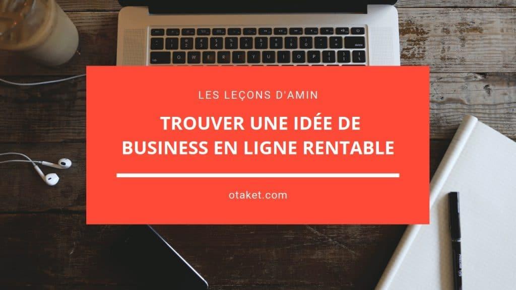 idée de business en ligne