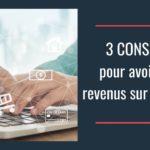 Comment avoir un revenu sur internet : 3 conseils